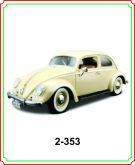 2 - Volkswagen Fuscar (Kafer) 1955 - 1/18