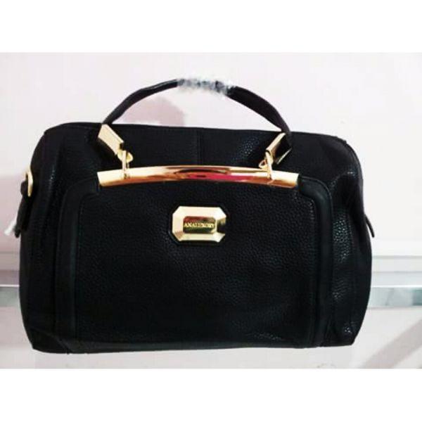 f44a8a555 Bolsa Ana Luxory cod. 10050 (Preta) - MM Boutique