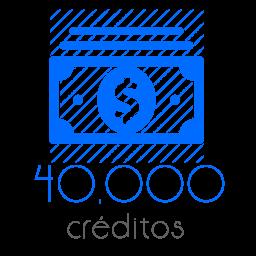 40,000 Moedas