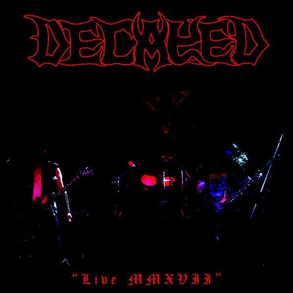 DECAYED - Live MMXVII - CD
