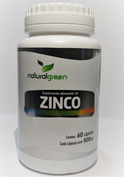 ZINCO 7MG - 60 CÁPSULAS