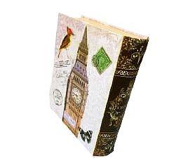 Livro Caixa - Pequenos Livros - London 17 cm
