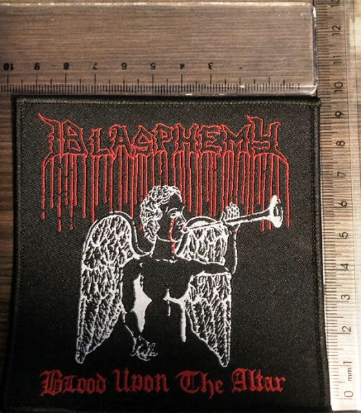 BLASPHEMY - Blood Upon The Altar - PATCH