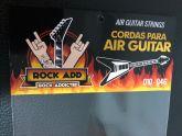 AIR GUITAR STRINGS! Corda para Air Guitar - FRETE GRÁTIS