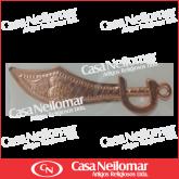 001028 - Alfange de cobre 10 cm