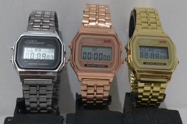 537b20c48bd Atacado- Kit c 10 Relógios Casio 4 prata