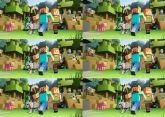 Papel Arroz Minecraft Lateral A4 011 1un