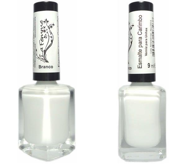 Branco - Carimbo