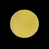 Cake Board Ouro Redondo 240mm 1un