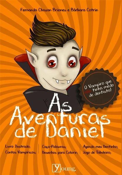 As Aventuras de Daniel + jogo de tabuleiro