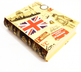 Kit 3 livros Decorativos 007