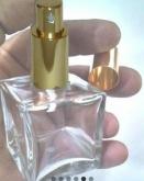 1 Frasco Cube De Perfume De Luxe Em Vidro 50ml