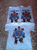 Kit Camisetas personalizadas (3 peças)