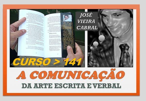 X-141. A COMUNICAÇÃO DA ARTE ESCRITA E VERBAL