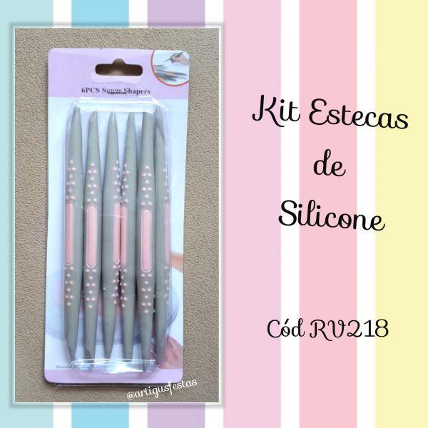 Kit Estecas de Silicone- RV 218