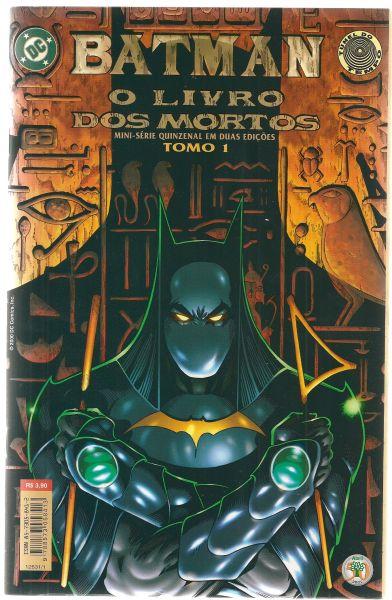 HQ - Batman - O Livro dos Mortos - Nº01