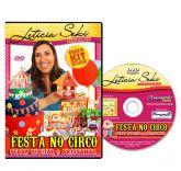 DVD Leticia Seki - FESTA NO CIRCO - Scrap Digital + Artesana