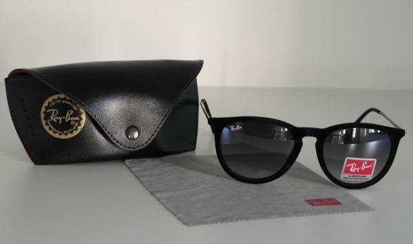Óculos de sol feminino Ray ban Érika Veludo Preto Inspired - Daf Store 17c7f7eacf