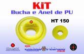 KIT BUCHA E ANEL HT 150
