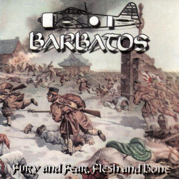 Barbatos – Fury And Fear, Flesh And Bone - CD