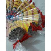 Saco Cone Incolor 14cmx23cm 50un
