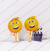 2 Displays de mesa - Emoji - O Filme