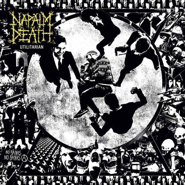 CD NAPALM DEATH - Utilitarian. Digipack