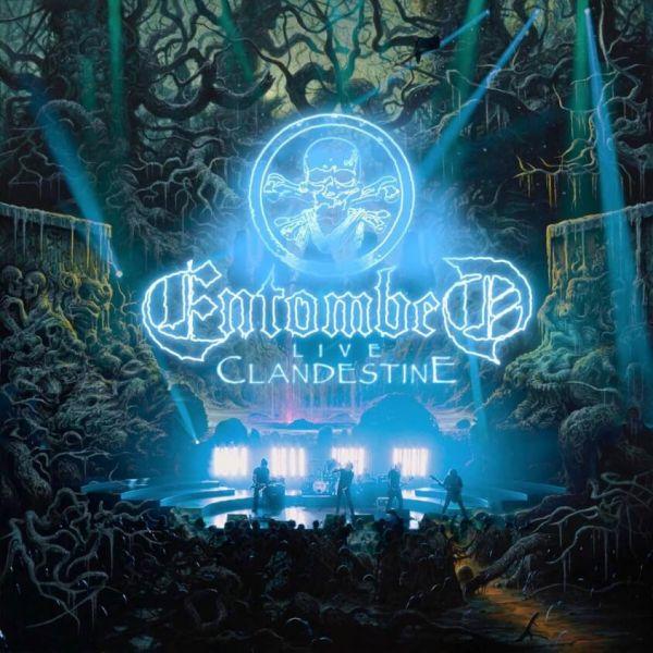 CD Entombed – Clandestine Live