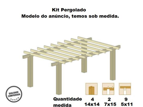 pergola pergolas 5x3 decoraci n de interiores y dise o de interiores fotos. Black Bedroom Furniture Sets. Home Design Ideas