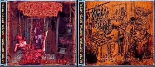 Anal Flesh/Gangrena Febrosa -split cd