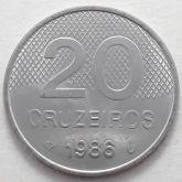 20 Cruzeiros 1986 SOB/FC