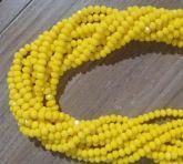 T4 Cristais Cor Amarelo Tam 4 (apx 100 unidades)
