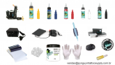 Kit de Tatuagem Electric Ink (Modelo 1)