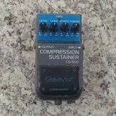 Pedal Guitarra Compression Sustainer Groovin' CS-500 - USADO