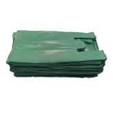 Sacola Verde Reciclável Reforçada 50un