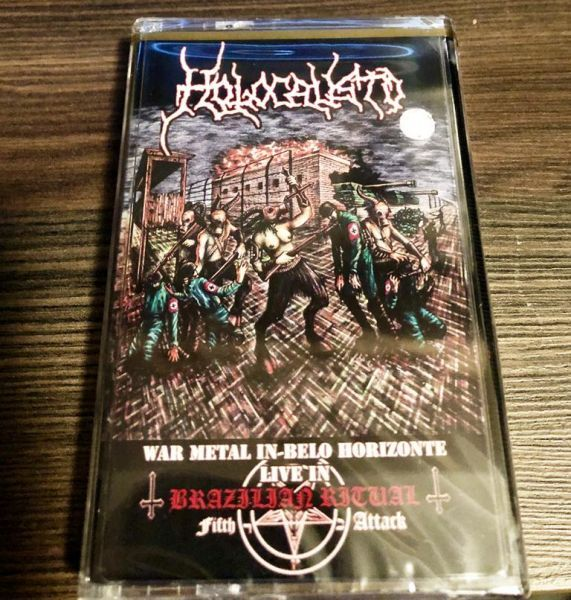 Cassete - Holocausto - War Metal in Belo Horizonte - Live in Brazilian Ritual Fifth Attack