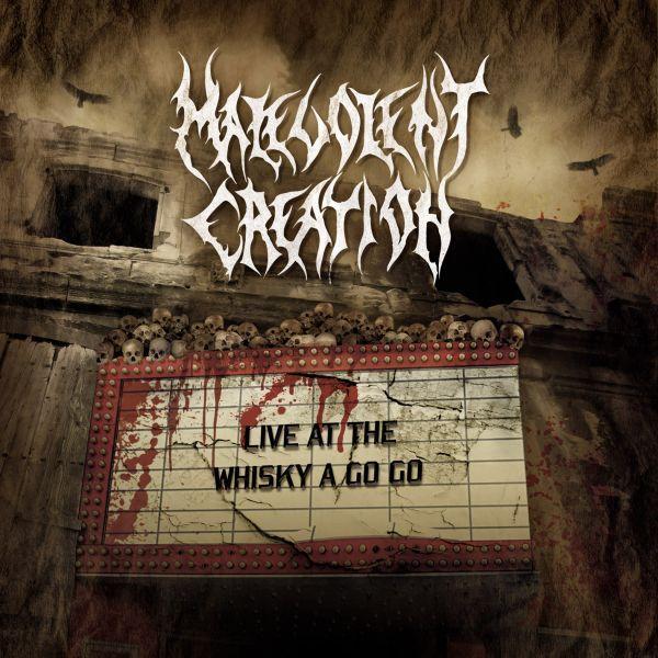 CD Malevolent Creation – Live At The Whisky A Go Go Importado