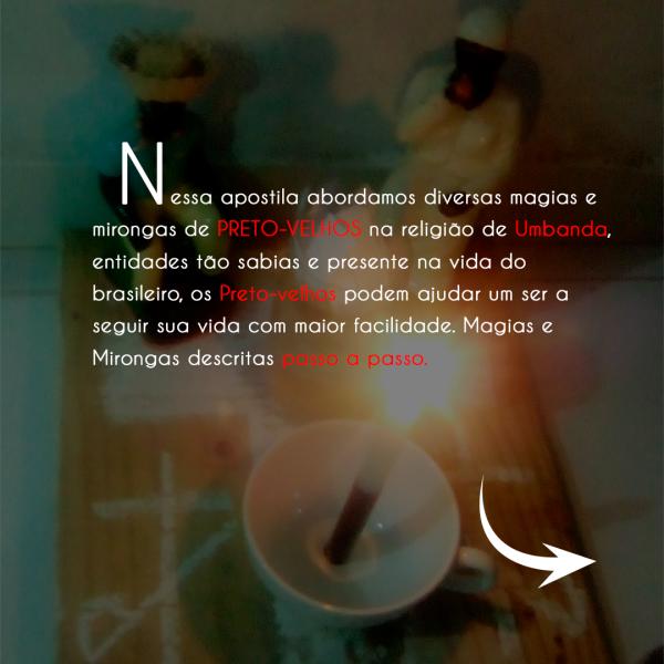 APOSTILAS MAGIA DE PRETO VELHO