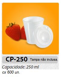 COPO DE ISOPOR MEIWA 250 ML