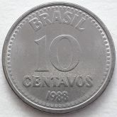 10 Centavos 1988 SOB/FC