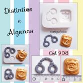 Distintivo e Algemas