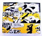 Conjugal Fighters: serigrafia em papel Canson 48 x 42,5cm (série numerada de 10)