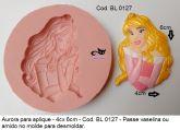molde aplique princesa Aurora -