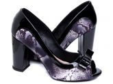 Sapato Peep Toe (Ref: SM088)
