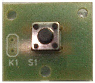 Chave Táctil em Placa de Circuito Impresso - Arduino/PIC (12 peças)