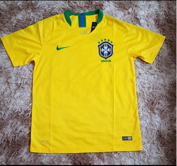 7ef1a75563 Camiseta Seleção Brasileira FC Amarela 2018 - Outlet Ser Chic