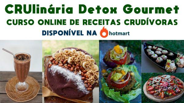 CULINÁRIA VIVA GOURMET - RECEITAS NATURAIS DETOX E EMAGRECIMENTO