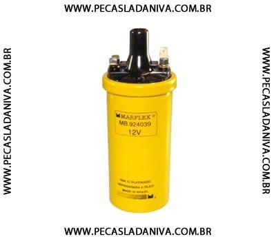 Bobina de Ignição 12V P/ Distribuidor à Platinado Niva (novo) Ref. 0605