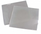 Folha Plástica Poli Incolor 15cmx15cm 100un