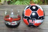 Copo de whisky Flamengo